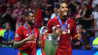 Duty Liverpool duo Virgil van Dijk and Georginio Wijnaldum were given a hero's welcome by their Dutch teammatesas they travelled to the Netherlandsfollowing...