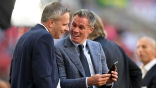 ​Jamie Carragher has jumped on the FaceApp trend as he found a new way to take a jibe at old rivals Everton's trophy prospects for the near future. Carragher,...