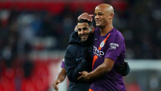 tory ​A Riyad Mahrez tap-in was enough to secure City their fourth win at Wembley this year, as they toppled Tottenham to move back to the top of the league....