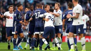 การแข่งขันฟุตบอล พรีเมียร์ลีกอังกฤษ 2019/20วันแข่งขันวันเสาร์ที่ 19 ตุลาคม 2019เวลาแข่งขัน21.00 น. ตามเวลาประเทศไทยผลการแข่งขันท็อตแนม...