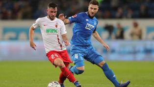 FC Augsburg Unsere ❤️💚⚪️ Jungs für heute! ⚽️ #FCATSG pic.twitter.com/5qsKp51zxm — FC Augsburg (@FCAugsburg) April 7, 2019  TSG 1899 Hoffenheim S T A R T E...