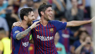 ​Sergi Roberto believes that Barcelona are still a 'great team' even in the absence of their talisman Lionel Messi, but admits it has been difficult for them...