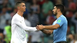 ​Luis Suarez is pulling no punches as he openly snubbed Cristiano Ronaldo when naming his favourite all-time strikers. Suarez's list included only South...