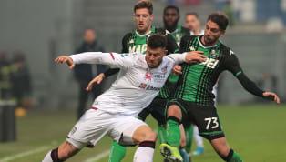 İtalya Serie A'nın 15. haftasında Sassuolo, kendi evinde Cagliari ile 2-2 berabere kaldı. Ev sahibi ekibin golleri; 6. dakikada Domenico Berardi ile 36....