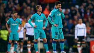 FC Barcelona menelan kekalahan di pekan 21 La Liga melawan Valencia di Estadio Mestalla, Minggu (26/01) dini hari WIB. Blaugrana kalah 0-2 dan ini menjadi...