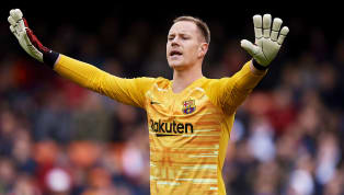 Barcelona goalkeeper Marc-André ter Stegen has admitted he is relaxed about his future after confirming that talks are underway with the club over a new...