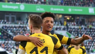 Borussia Dortmund sensation Jadon Sancho has heaped praise on teammate Marco Reus after the German's goal helped to seal victory away at Wolfsburg on Sunday,...