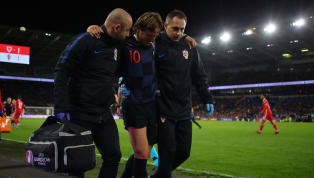 Real Madrid have offered an injury update on midfielder Luka Modric, revealing the Croatia international is struggling with a contusion to his right...