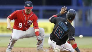 Rangers 9Astros 4Cerveceros 5Dodgers 0Medias Rojas 6Rays 5Marlins 9Nacionales 3Azulejos 10Atléticos 1Piratas 3Gigantes 1Cascabeles 6Cachorros...