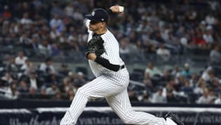"""Dellin Betances, uno de los relevistas de cierre de losYankees de Nueva York, ha sentido algunos """"pinchazos"""" e hinchazónen el hombro derecho y por eso..."""