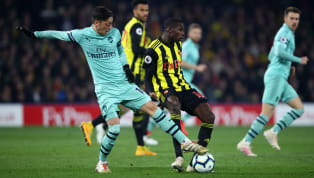 Arsenal moved back into the top four as they just about overcame ten-man Watford, with a howler from Ben Foster gifting Pierre-Emerick Aubameyang the only...
