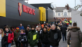 ​Four arrests have been made following the violence which took place outside Vicarage Road and left two men needing hospital treatment, following Watford's...