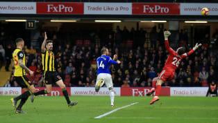 İngiltere Premier Lig'in 26. hafta mücadelesinde Everton, dış sahada Watford'a 1-0 mağlup oldu.Cenk Tosun'unilk 11'de başladığı karşılaşmada ev sahibi...