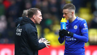 ​Leicester City manager Brendan Rodgers has said striker Jamie Vardy will be fit to face Fulham on Saturday, despite needing stitches after the defeat to...