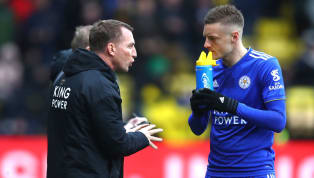 ​Leicester City manager Brendan Rodgers has revealed that he loves Jamie Vardy 'to bits', as he looks to make the striker a focal point of a 'dynamic' side...