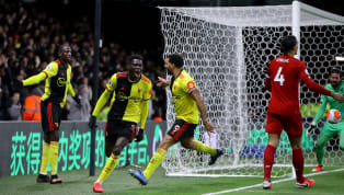 As Ismaïla Sarr charged onto Troy Deeney's through ball, leaving Virgil van Dijk running through treacle in his wake, before calmly chipping Alisson to make...