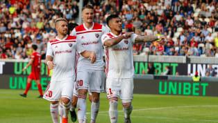 DerFC Ingolstadthat die halbe Miete für den Klassenverbleib inLiga zweigeschafft. Im Relegationshinspiel setzten sich die Schanzer dank zweier Blitztore...