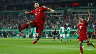 DerFC Bayern Münchensteht nach einem brutalen Fightim DFB-Pokalfinale. Das Team von Niko Kovac rang am Mittwochabend denSV Werder Bremenmit 3:2 nieder...