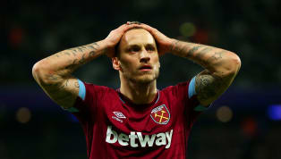 West Ham Striker Marko Arnautovic Ruled Out Until 2019 With Hamstring Injury