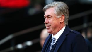 Carlo Ancelotti has now been in charge of Everton for almost one month. His first five games as Everton manager read as follows: three wins, one draw, and...