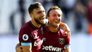 After picking apart Newcastle 3-0 at the weekend, some West Ham stars took a brief break from Premier League action to try their hands at a spot of 'crazy...