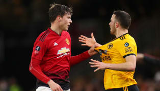 Manchester United's Victor Lindelof was caught on camera delivering a foul-mouthed message to the Wolves bench during the Red Devils' shock 2-0 defeat at...