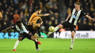 osts Newcastle were able to gain a vital away point as they draw 1-1 away at Molineux against a frustrated Wolves side.  It didn't take long for the goals to...