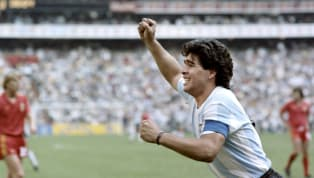 "ball ""With Diego, I would go to the end of the world. But with Maradona, I wouldn't take a step."" Diego. Maradona. There are no two names in world football..."