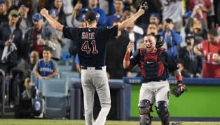 When you've got arguably the best starting pitcher inbaseballwith arguably the best individual pitch in baseball who just led your team to a World Series...
