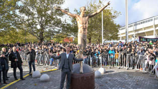 Creator of the recently unveiled Zlatan Ibrahimovic statuePeter Lindehas denied he is to blame for the monumental typographical errors on the accompanying...