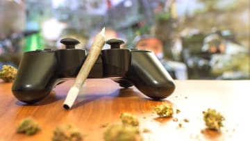 Videogames aren't the only thing you can play when you're high as a kite.