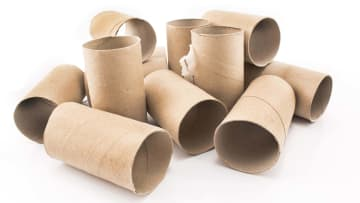 Cardboard is just one way to make a sploof.