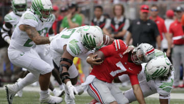 Oregon Ducks and Ohio State Buckeyes among biggest movers in WynnBET's win total market after Week 2.