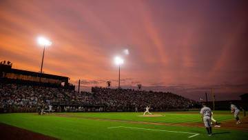 Yankees and White Sox play near the Field of Dreams movie site outside of Dyersville, Iowa on Thursday, Aug. 12, 2021.