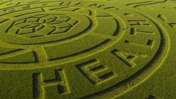 Charlotte's Web Carves Giant Ad Into a Kansas Wheat Field