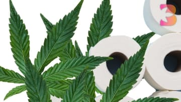 Just like toilet paper, weed is flying off the shelves.