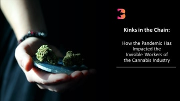 Four cannabis workers reveal how the pandemic has made already existing kinks in the cannabis supply chain even worse.