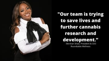 Bershan Shaw intends to make an impact in New Jersey and beyond.