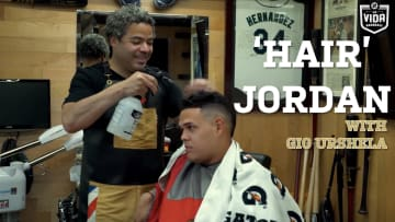 'Hair' Jordan MLB Barber