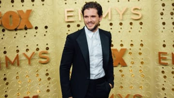 LOS ANGELES, CALIFORNIA - SEPTEMBER 22: (EDITORS NOTE: Image has been edited using digital filters) Kit Harrington arrives at the 71st Emmy Awards at Microsoft Theater on September 22, 2019 in Los Angeles, California. (Photo by Emma McIntyre/Getty Images)