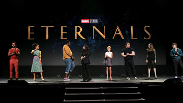 Marvel's 'The Eternals' targeted by anti-LGBTQ+ group One Million Moms for gay kiss