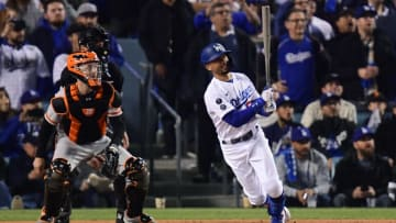 The Dodgers and Giants are set to face-off in Game 5 of the NLDS.   Gary A. Vasquez-USA TODAY Sports