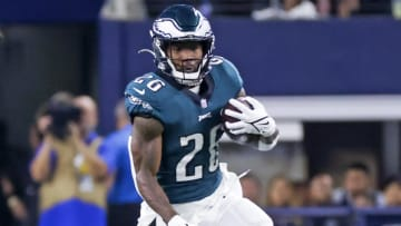 Miles Sanders has a tough matchup in Week 6. | Kevin Jairaj-USA TODAY Sports