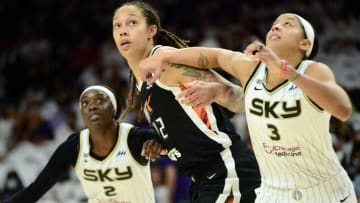 The Sky and Mercury are tied heading into Game 3. | Joe Camporeale-USA TODAY Sports