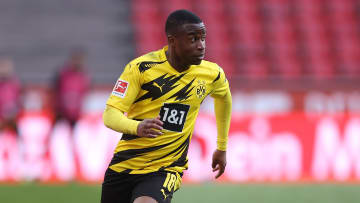 Youssoufa Moukoko struggled with the hype when he first broke into the Borussia Dortmund team