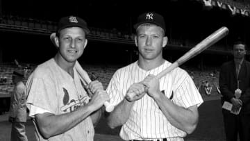 Stan Musial, Mickey Mantle