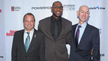 Mark Ford, LeBron James, Adam Silver