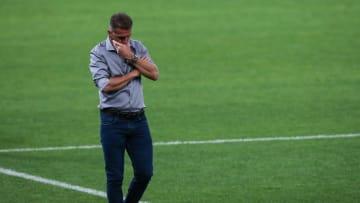 Vagner Mancini deixa o comando técnico do Corinthians.