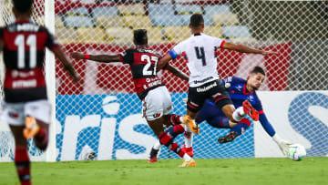 2020 Brasileirao Series A: Flamengo v Atletico GO Play Behind Closed Doors Amidst the Coronavirus (COVID-19) Pandemic