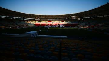 2020 Brasileirao Series A: Flamengo v Fortaleza Play Behind Closed Doors Amidst the Coronavirus (COVID - 19) Pandemic